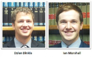 2013 Interns: Dylan Dinkla and Ian Marshall